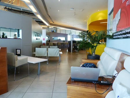 Flying Blue: Business lounge Larnaca