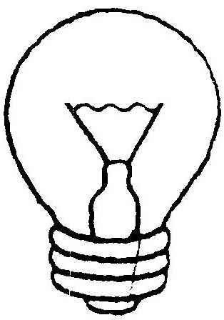 Colorear dibujos de bombillas - Bombillas para estudiar ...