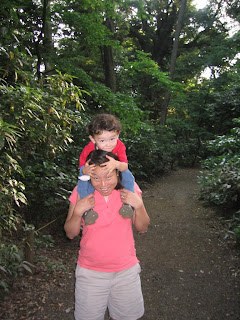 Eidan and Maria at the Tokyo Institute for Nature Study