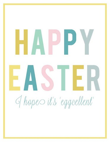 easter printable