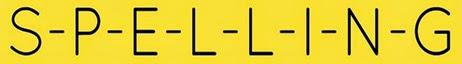 Spelling[4]