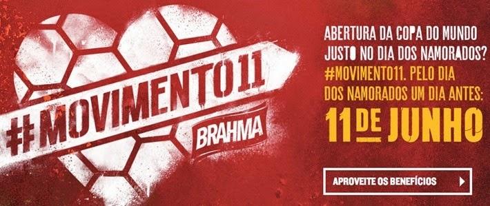 brahma movimento 11 dia dos namorados 2014