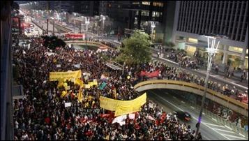 São Paulo protesto