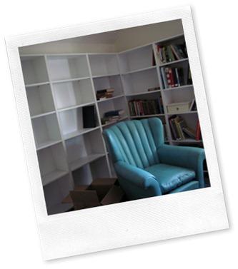 Bookshelf Corner