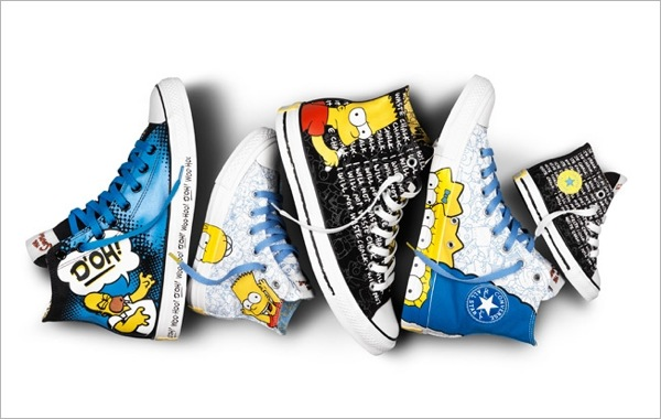 Simpsons Sneakers converse 4