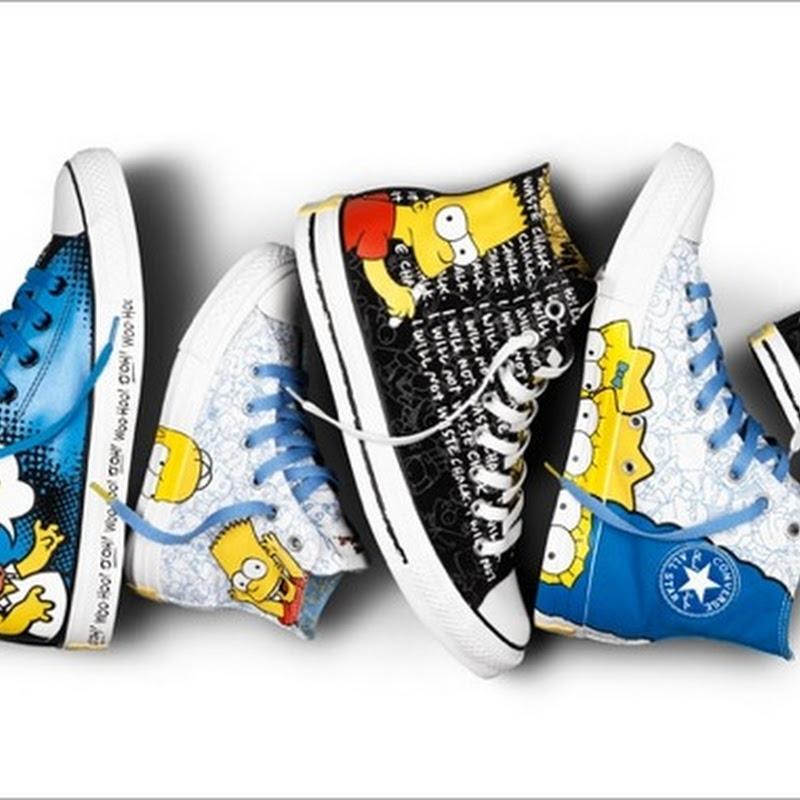 Los Converse de los Simpsons