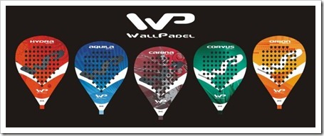 WallPadel sale al mercado y presenta oficialmente su colección de palas 2013.