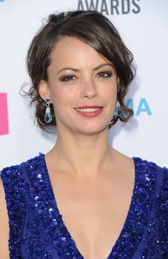 Berenice Bejo's Aquamaring Earrings