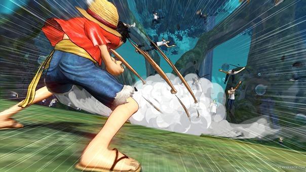Dyanaty Warriors com personagem de One Piece ¬¬