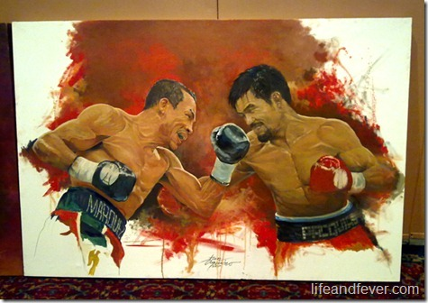 Jun Aquino Pacquiao painting