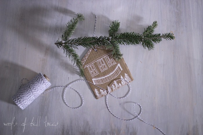 gingerbread-house-alternative-idea-craft-simple-DIY-christmas-gift-tags-ornaments-3