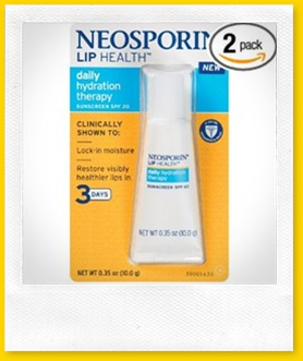 neosporin lip hydration