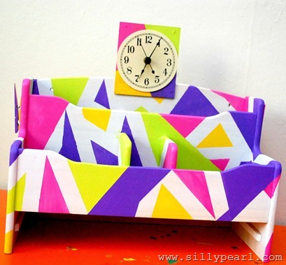 Back to School Organizer with Clock by The Silly Pearl