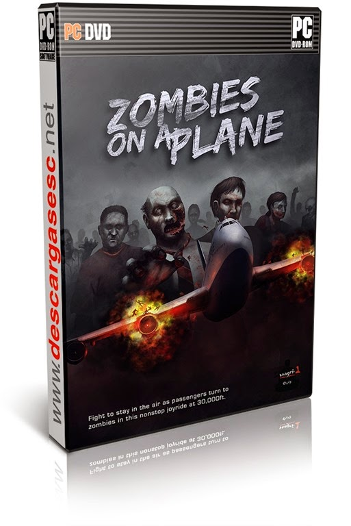 Zombies on a Plane-DEFA-pc-cover-box-art-www.descargasesc.net