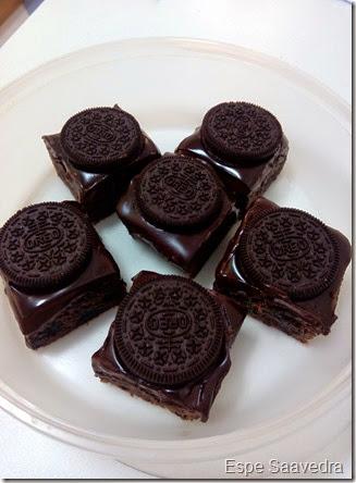 brownie chocolate oreo espe saavedra