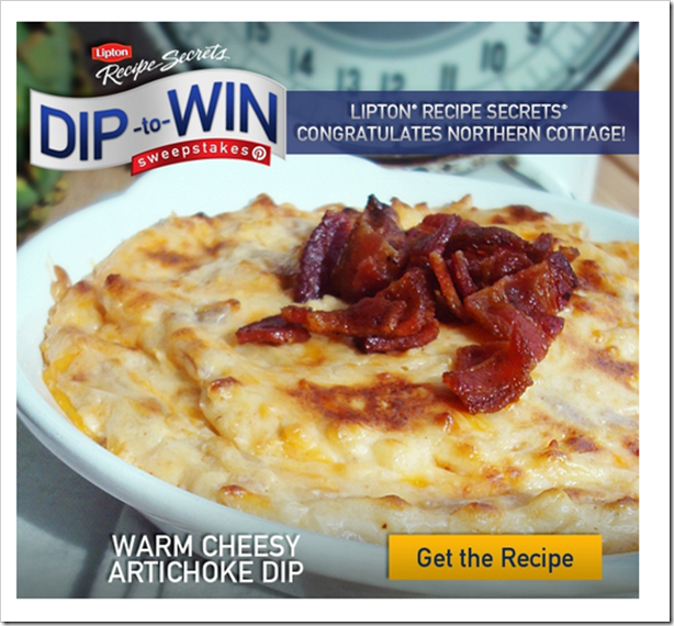 Lipton Dip to Win Champion!!