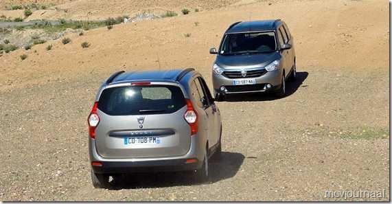 Dacia Lodgy testdagen 18