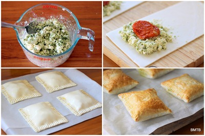 Feta Pesto Parcels