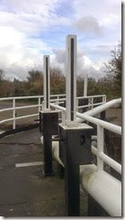 paddle gear bottom gates double locks