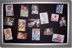 Sibling Shower Baby Board