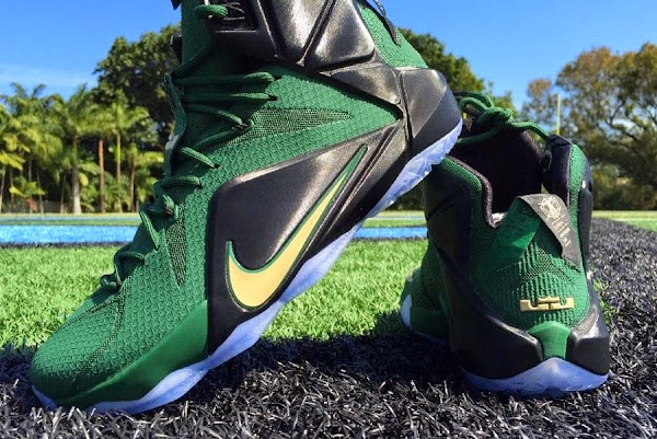 First Look at Nike LeBron XII 12 8220SVSM Away8221 PE