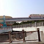 the monorail at Tokyo DisneySea in Urayasu, Tiba (Chiba) , Japan