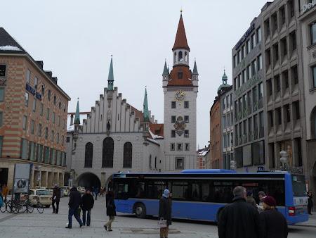 Obiective turistice Munchen: Piata centrala