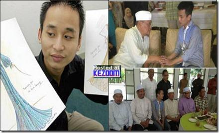Calvin Thoo Akui Hati Lebih Tenang Selepas Peluk Islam