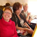 Dans l'avion pour la Suède....
