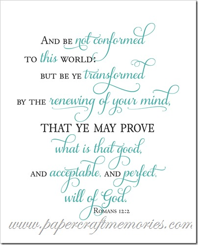 Romans 12:2 charcoal_teal 8x10 WORDart by Karen personal use