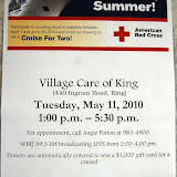 WBFJ at Village Care Blood Drive 5-11-10