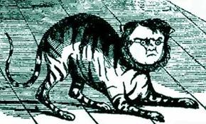 Cavour Il gatto cavorrese, satira Pedrini, Il Fischietto (part, picc) 21 dic 1848