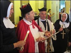El Bisbe Ramón i l'enviat del Vaticá  Leo LXIX