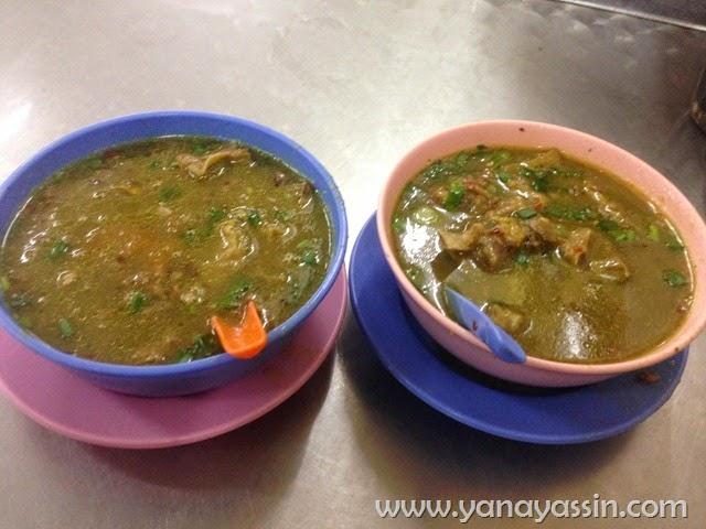 Sup Sedap Restoran Zaiton Hussin Setapak - Sup Kambing
