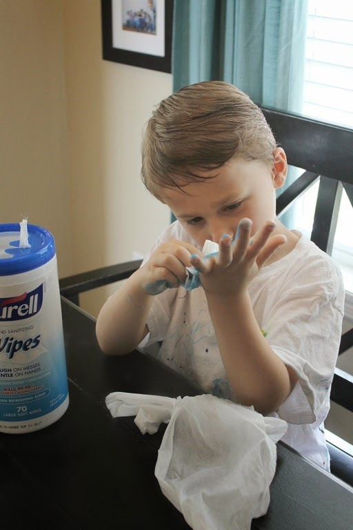 purell wipes kill germs