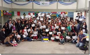 Unos 150 jóvenes de 19 escuelas del Distrito se dieron cita en la Escuela Técnica Nº 2, de Villa Clelia, sede del evento organizado por la Municipalidad de La Costa