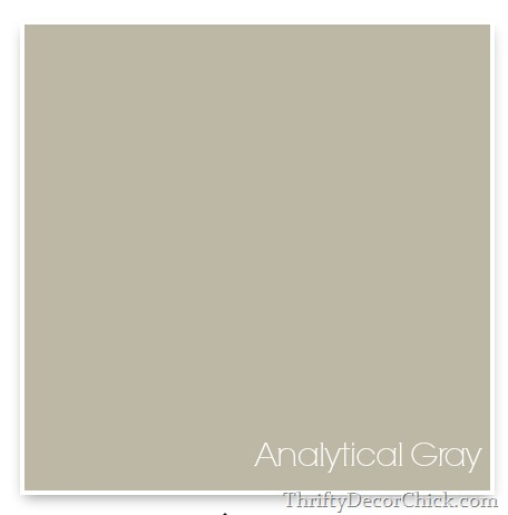Analytical Gray, Sherwin Williams