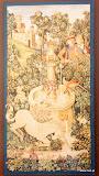 Gobelin 9130, Licorne a la fontaine, 150x75cm