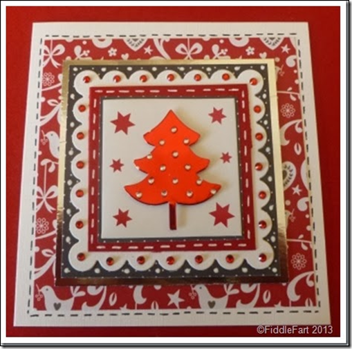 Layered Christmas Tree Card 2