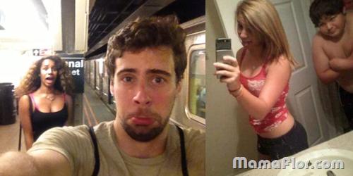 Selfie FAIL en el baño