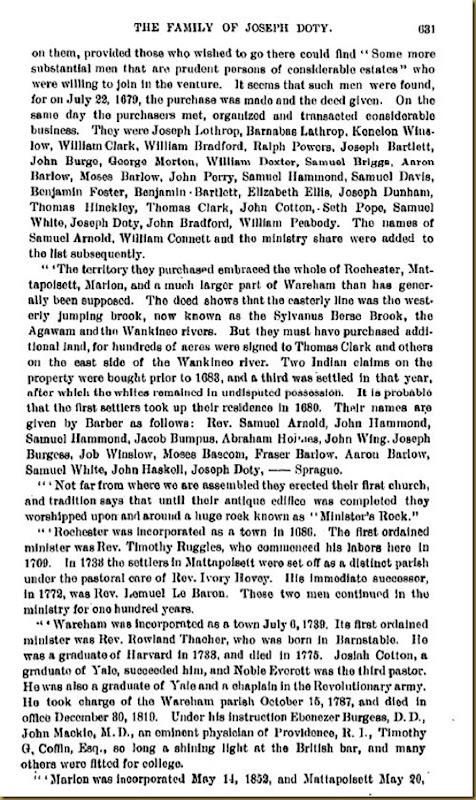 Doty-Doten Family In America-The Family of Joseph Doty6