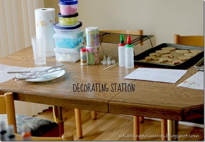 decoating station