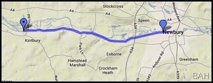 map newbury