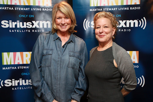 Martha Stewart and Bette Midler, 