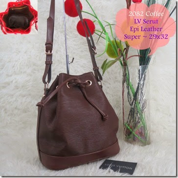 LV 2082 Serut (195.000) - Epi Leather, Talpan Adjustable