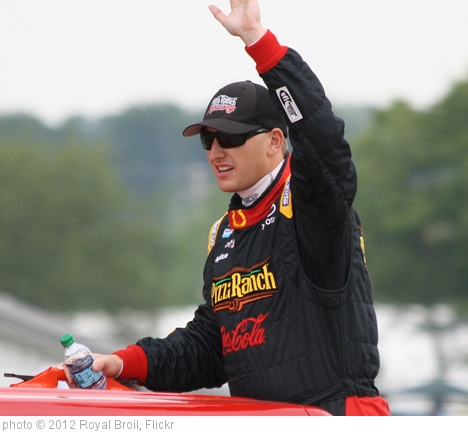 '6.23.12 Road America - NASCAR driver 18 Michael McDowell' photo (c) 2012, Royal Broil - license: http://creativecommons.org/licenses/by-sa/2.0/
