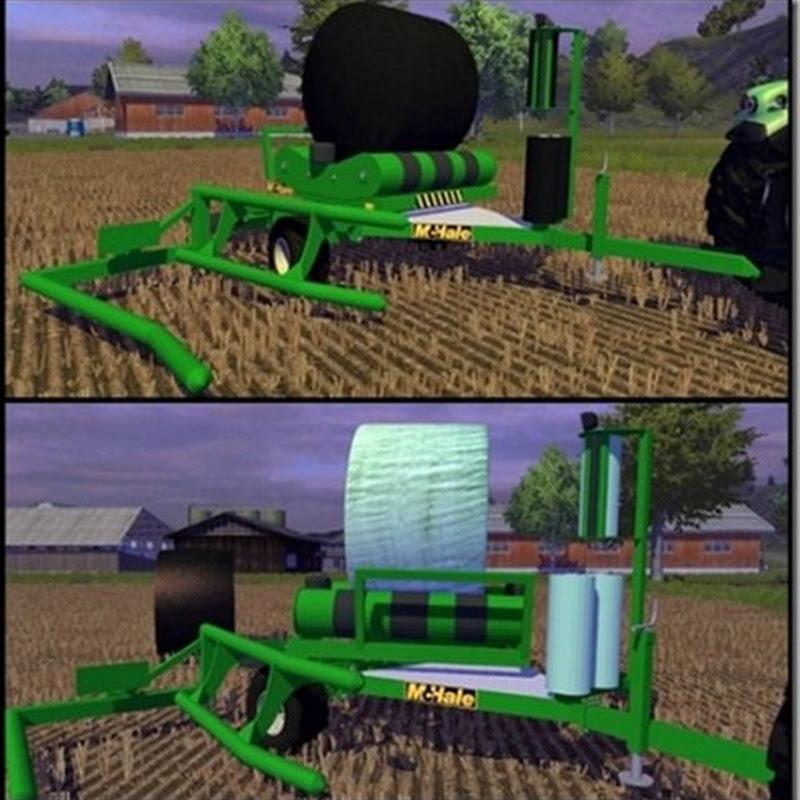 Farming simulator 2013 - McHale 991 (rotoballe)