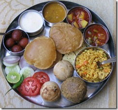 Rajasthani-Thali