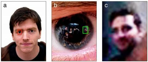 Una investigación logra reconocer personas reflejadas en nuestros ojos