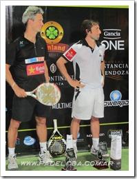 Lamperti y Grabiel Campeones en el Bwin PPT I Internacional Mendoza.